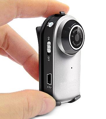 Brickhouse Mega Mini Spycam Ultra doubles as webcam