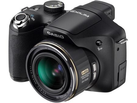 Casio EXILIM EX-FH25 20x zoom camera front