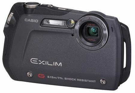 Casio EXILIM EX-G1BK rugged camera
