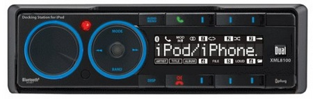 Dual XML8110 in-dash iPhone iPod Dock