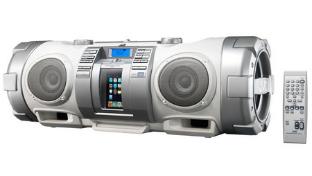 JVC-Victor RV-NB50 CD Boombox with iPod Dock