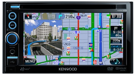Kenwood AVENUE MDV-313 In-car GPS Navigation Multimedia System