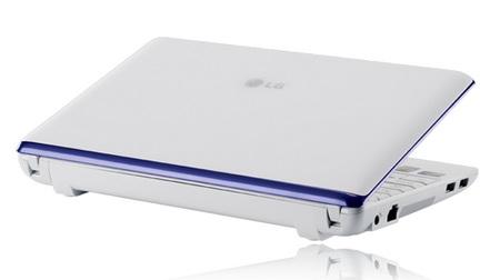 LG X120 3G HSDPA Netbook lid