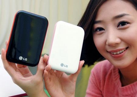 LG XD5 Mini Portable Hard Drive