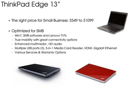 Lenovo ThinkPad Edge price