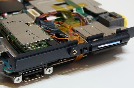 Modded Sony VAIO UX 3G SIM card slot