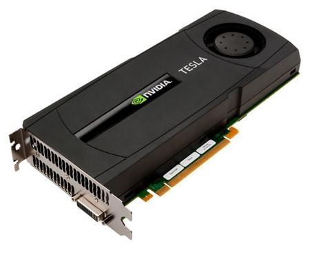 NVIDIA Tesla C2050 & C2070 GPU Computing Processors
