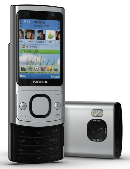 Nokia 6700 slide S60 slider phone front back