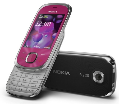 Nokia 7230 Slider Phone