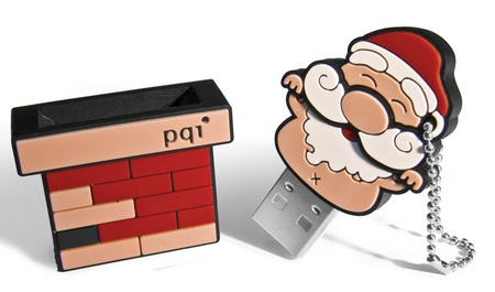 PQI Intelligent Drive U825 Santa USB Flash Drive