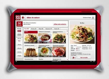 QOOQ Cooking Tablet