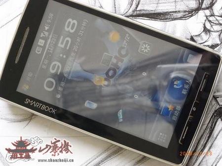 QiGi Smartbook U1000 WinMo MID live shots