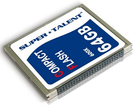 Super Talent 600X CompactFlash Memory Card