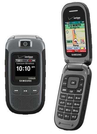Verizon Samsung Convey Rugged Push-to-Talk Phone