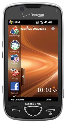 Verizon Samsung Omnia II WM6.5 smartphone