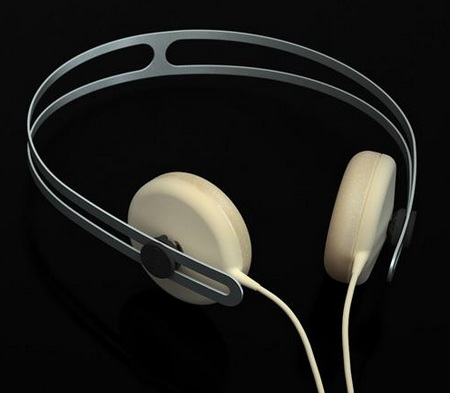 AIAIA Tracks series Headphones Cream
