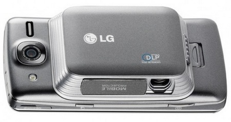 AT&T LG eXpo GW820 Smartphone with detachable projector