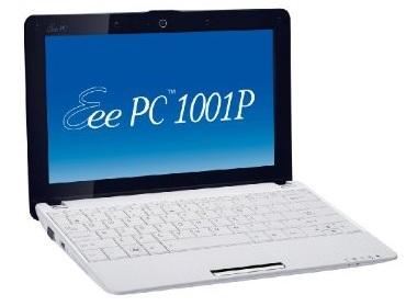 Asus Eee PC 1001P Atom N450 Netbook