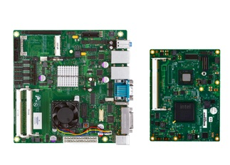 Emerson COMX-ATOM-420 COM Express module and MITX-ATOM-440 Mini-ITX motherboard get Atom Pine Trail