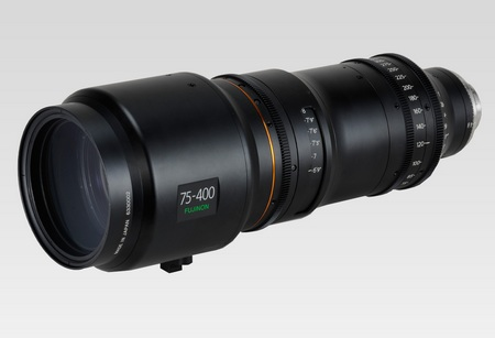 Fujinon HK5.3X75 35mm PL mount zoom lens