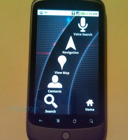 Google Nexus One Phone functions