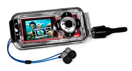 H2O Audio Capture Waterproof Case for iPod nano 5G horizontal