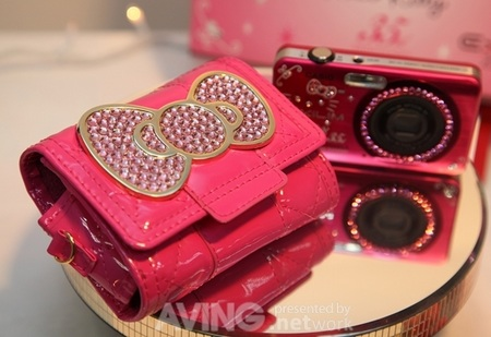 Hello Kitty Casio EX-Z90 Limited Edition camera case