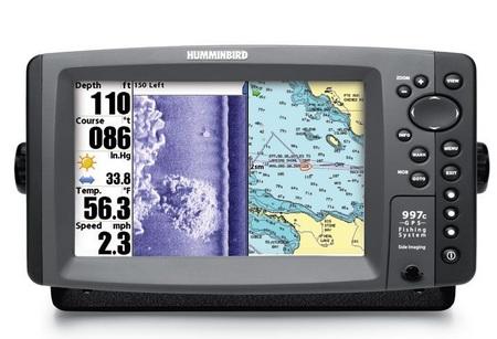Humminbird 997c SI Combo Sonar GPS Fishing System