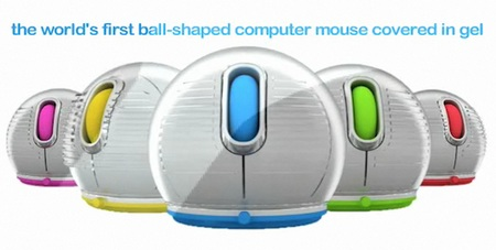 Jelfin Ball-Shaped Mouse covered in gel