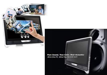 MSI Wind Top AE2220 Hi-Fi All-in-one offer Premium Sound