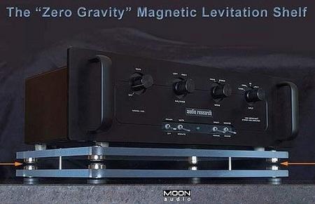 Moon Audio Zero Gravity Magnetic Levitation Shelf