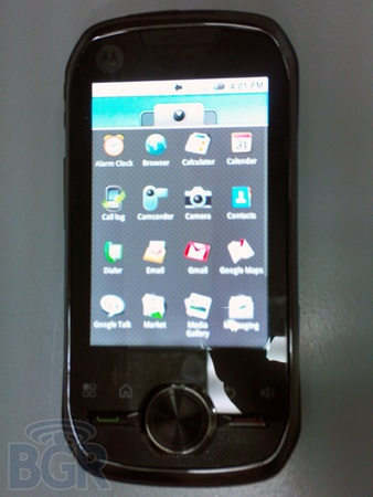 Motorola Opus One - The First iDEN Android Phone