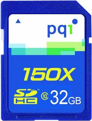 PQI Class10 150X SDHC Memory Card