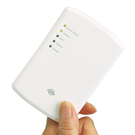 Planex CQW-MRB 3G-to-WiFi Router