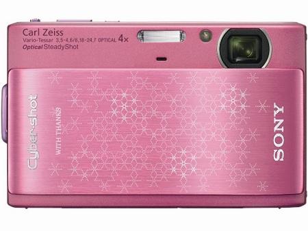 Sony Cyber-shot DSC-TX1 Snowflakes Pink