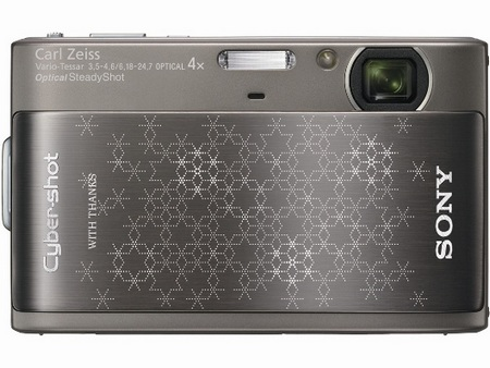 Sony Cyber-shot DSC-TX1 Snowflakes Brown