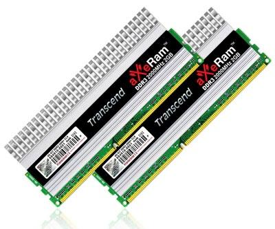 Transcend 4GB aXeRam DDR3-2000 Memory Kit