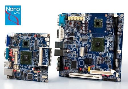 VIA EPIA-N800 Nano-ITX VIA EPIA-M800 Mini-ITX Boards