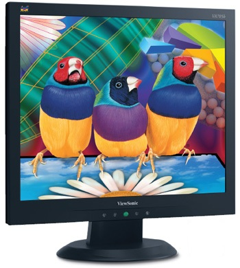ViewSonic VA705b 17-inch Eco-Friendly LCD Display