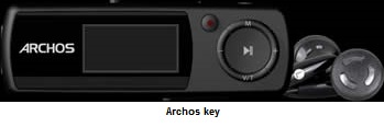 Archos Key MP3 player