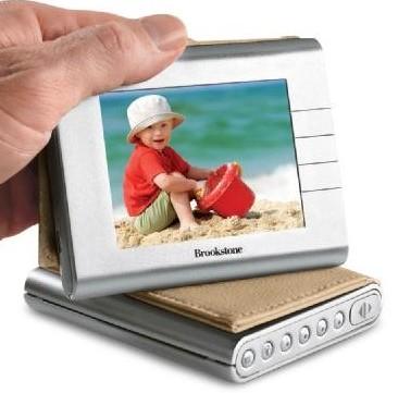 Brookstone My Life Pocket Digital Photo Album