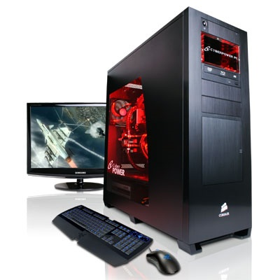CyberPower Black Mamba Gaming Machine