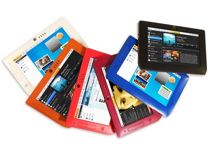 Freescale Smartbook Tablet reference design colors