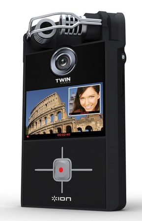 Ion Audio Twin Video Dual-Lens Handheld Video Camera