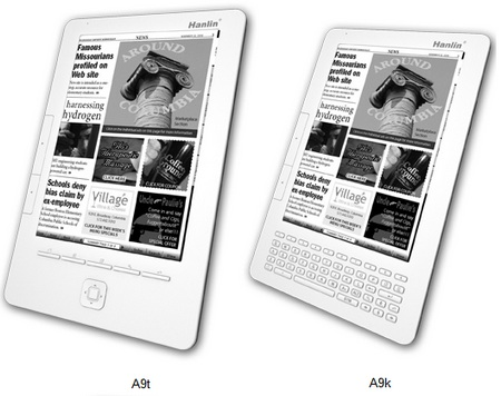 Jinke A9 Series e-book readers