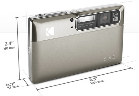 Kodak SLICE Touchscreen Camera Silver