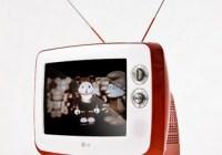LG Series 1 Classic TV Retro Style Television