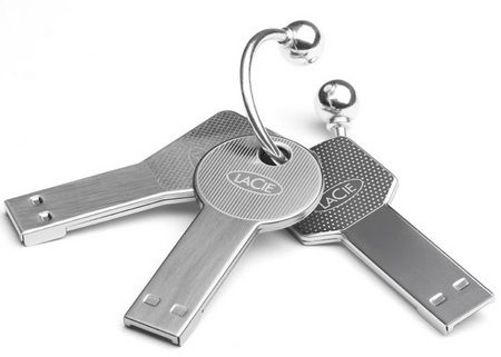 LaCie CooKey and WhizKey USB Flash Keys