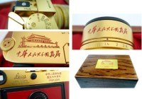 Leica MP Golden Camera Limited Edition for 60th Anniversary of PRC details