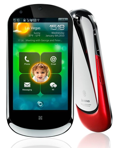 Lenovo LePhone SnapDragon Android Smartphone front
